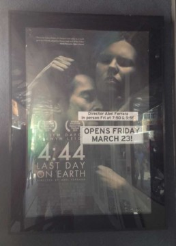 Abel Ferrara 4:44 Last Day On Earth Poster